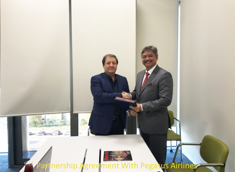 Partnership Agreement Signing With Pegasus Airlines