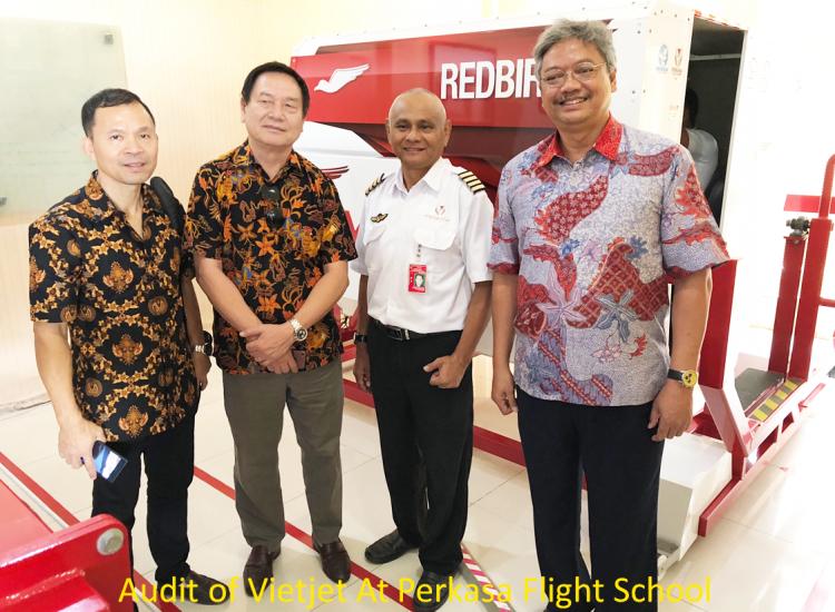 Audit of Vietjet At Perkasa Flight School