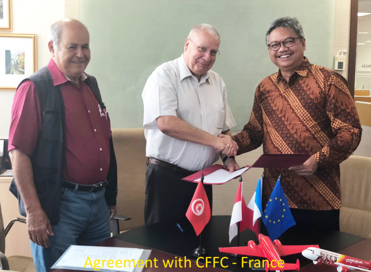 Agreement with CFFC - France
