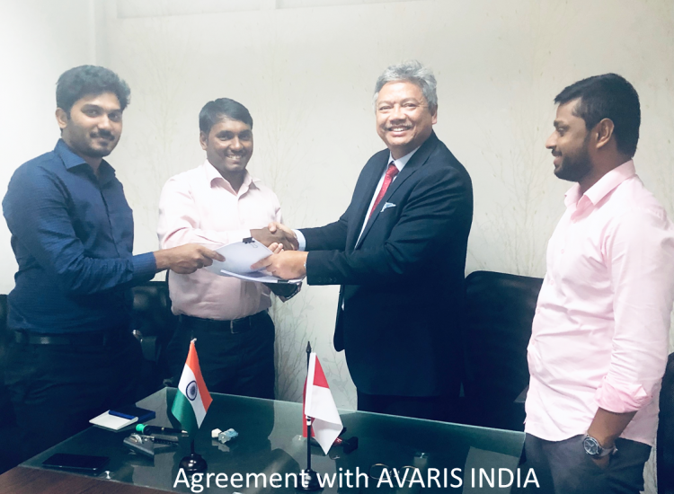 Agreement with AVARIS INDIA