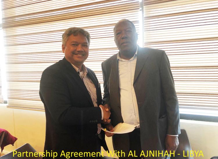 Partnership Agreement With AL AJNIHAH - LIBYA
