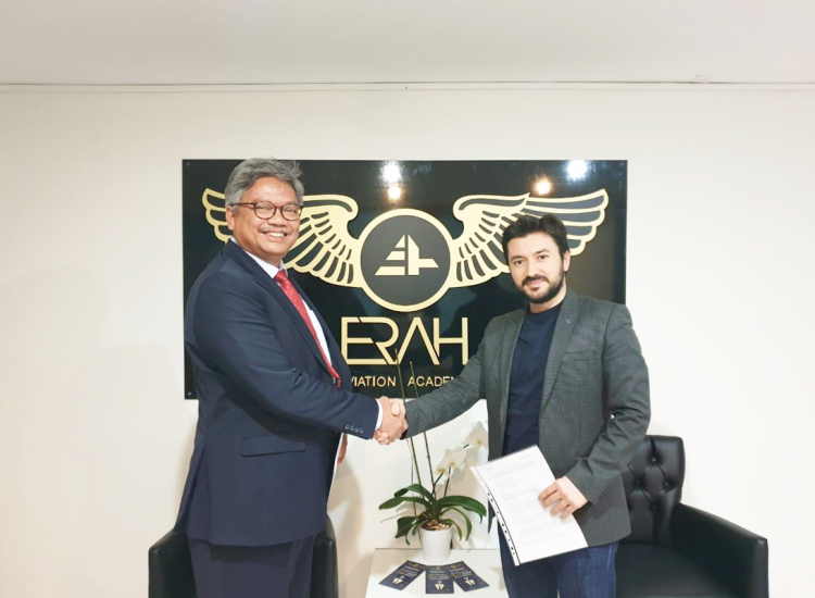 Partnership Agreement With ERAH Aviation Academy
